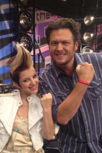 Michaela & Blake Shelton