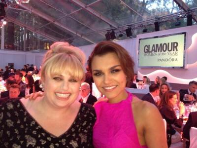 Rebel Wilson & Samantha Barks
