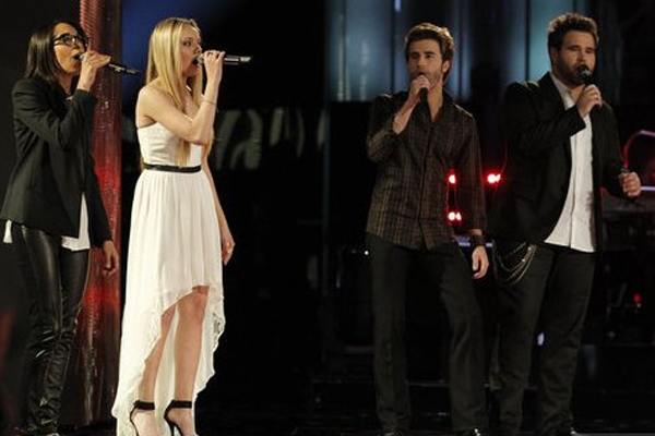 Michelle Chamuel, Danielle Bradbery, the Swon Brothers