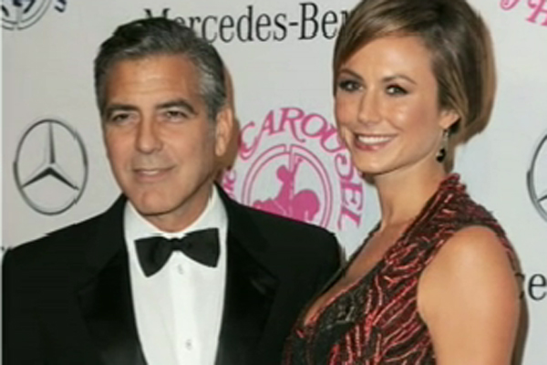 George Clooney & Stacy Keibler