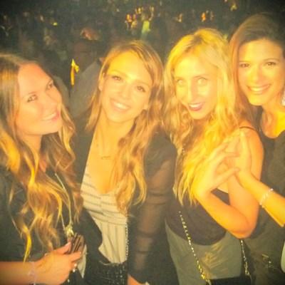 Jessica Alba & friends