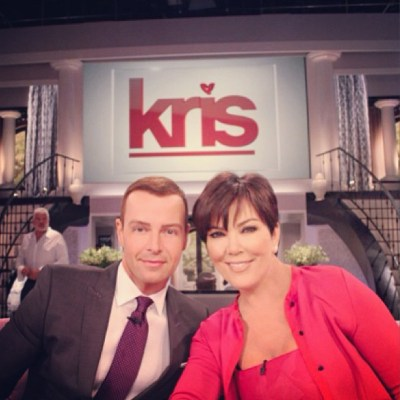 Joey Lawrence & Kris Jenner