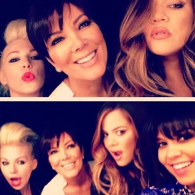 Khloe Kardashian, Kourtney Kardashian & Kris Jenner