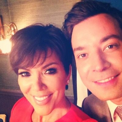 Kris Jenner & Jimmy Fallon
