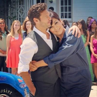 Ryan Seacrest & Kris Jenner
