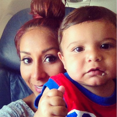 Snooki and Lorenzo