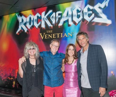 Nina Blackwood, Alan Hunter, Martha Quinn & Mark Goodman