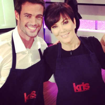 William Levy & Kris Jenner