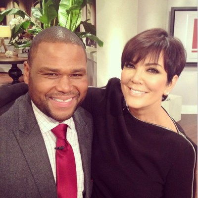 Anthony Anderson & Kris Jenner