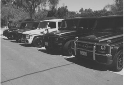 Kardashian family cars