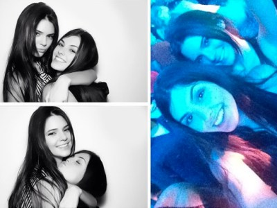 Kendall Jenner and friend