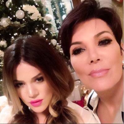Khloe Kardashian & Kris Jenner