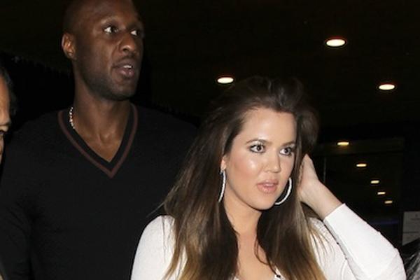 Lamar Odom & Khloe Kardashian