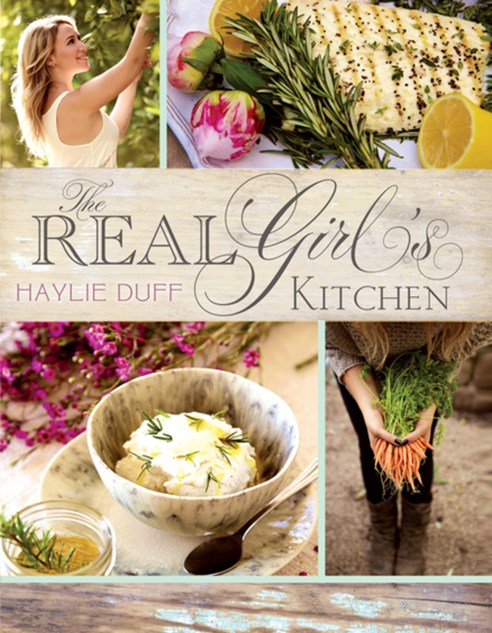 Cover.The Real Girl's Kitchen