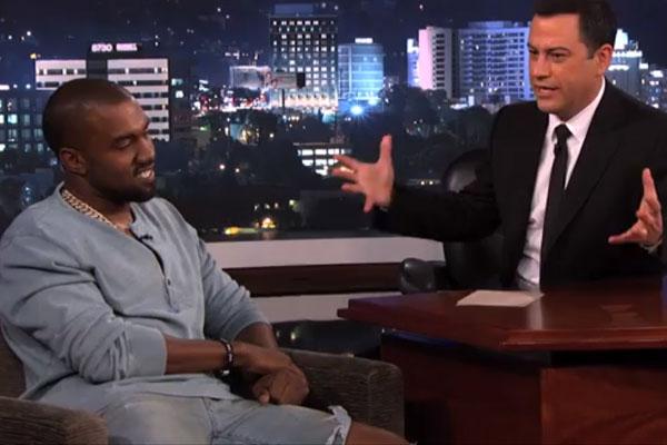 Kanye West & Jimmy Kimmel