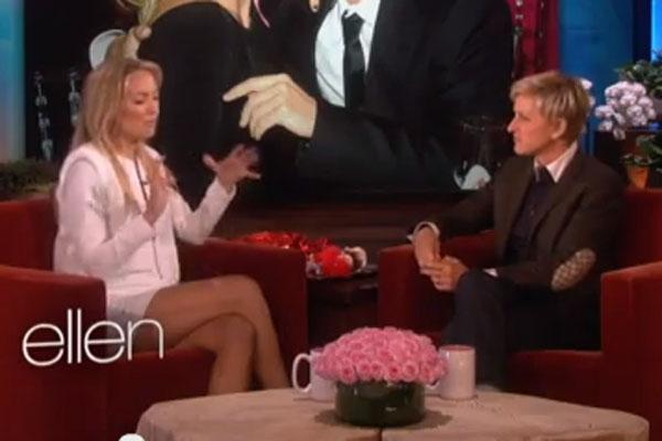 Kate Hudson & Ellen DeGeneres