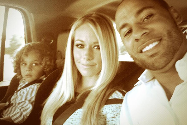 Hank Baskett IV, Kendra Wilkinson & Hank Baskett
