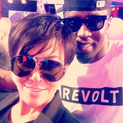Kris Jenner & Diddy