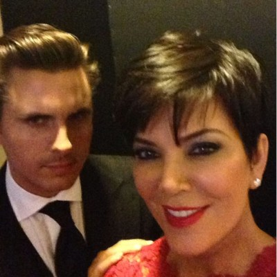 Scott Disick & Kris Jenner
