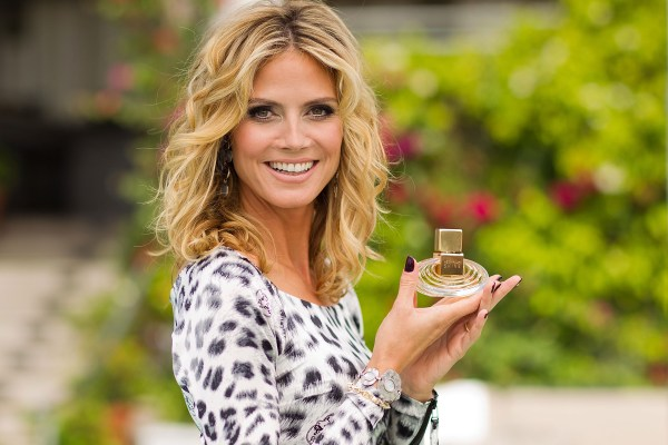 "Heidi Klum Debuts Her New Signature Fragrance ""Shine"""
