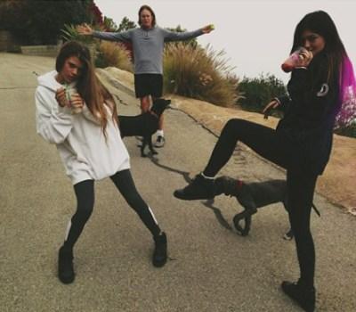 Bruce & Kylie Jenner
