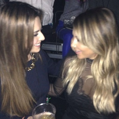 Cheryl Cole & Kim Kardashian