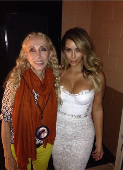 Franca Sozzani & Kim Kardashian