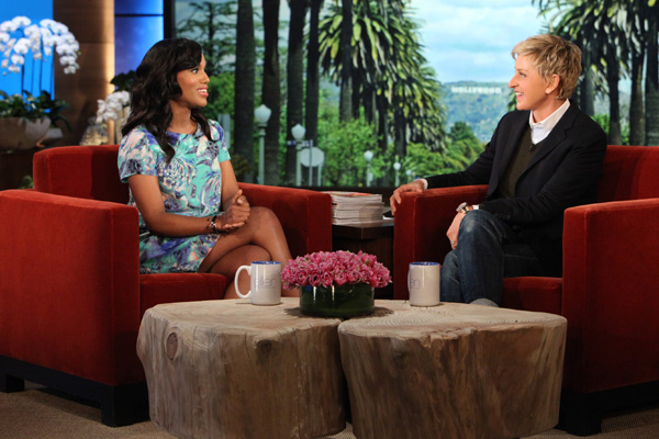 Kerry Washington & Ellen DeGeneres