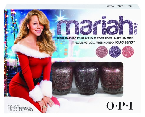 Mariah Carey Liquid Sand by OPI Holiday Gift Set