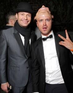 Ryan Seacrest & Aaron Paul