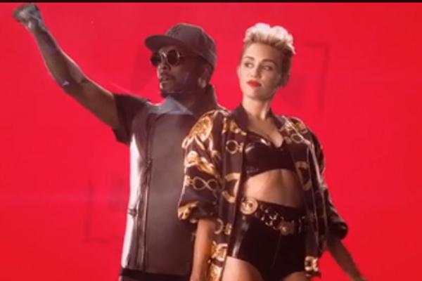 Will.i.Am & Miley Cyrus