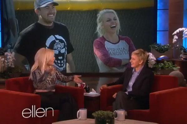 Britney Spears & Ellen DeGeneres