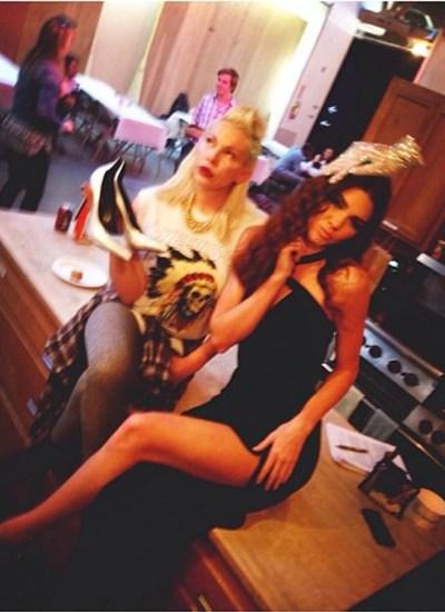 Joyce Bonelli & Kendall Jenner
