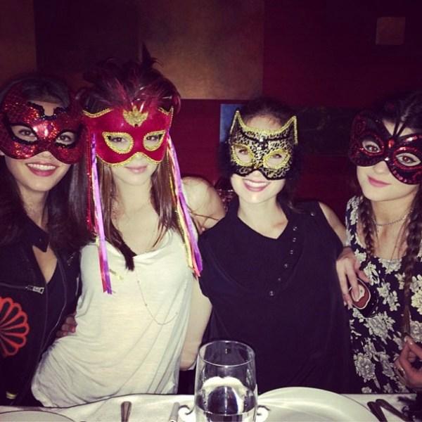 Kendall Jenner, Kylie Jenner & friends