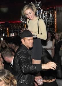 Miley Cyrus & Kellan Lutz