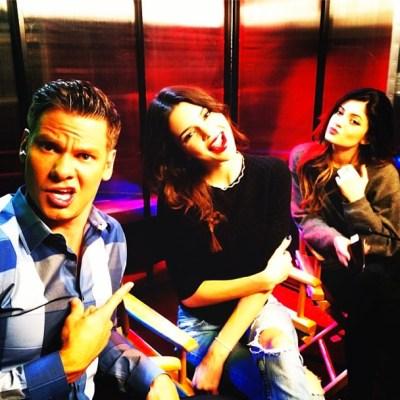 Theo Von, Kendall Jenner & Kylie Jenner