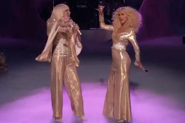 Lady Gaga & Christina Aguilera