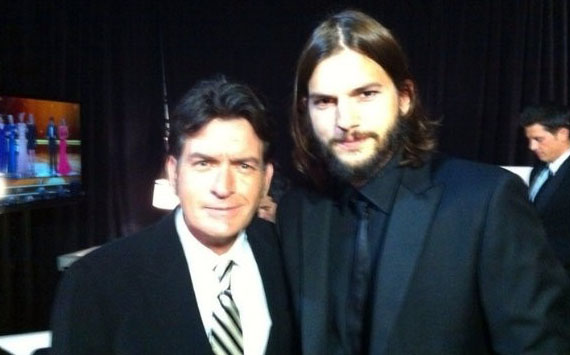 Charlie Sheen & Ashton Kutcher