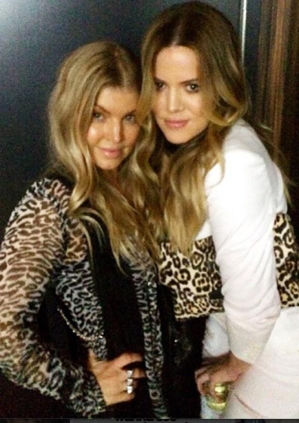 Fergie & Khloe Kardashian