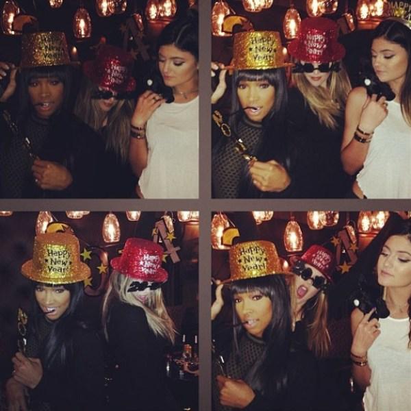 Khloe Kardashian, Kylie Jenner & Malika Haqq