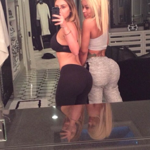 Kim Kardashian & Blac Chyna