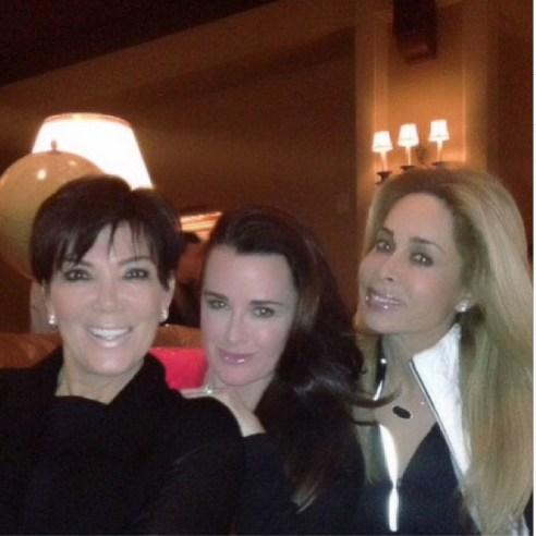 Kris Jenner, Kyle Richards & Faye Resnick