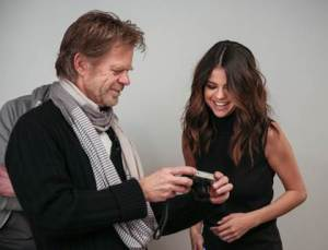 William H. Macy & Selena Gomez