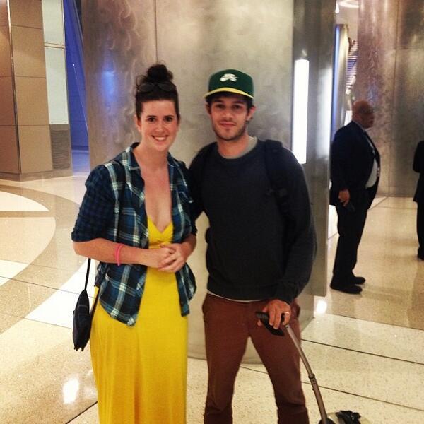 Adam Brody & fan