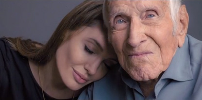 Angelina Jolie & Louis Zamperini