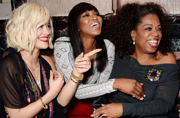 Rita Ora, Naomi Campbell & Oprah Winfrey