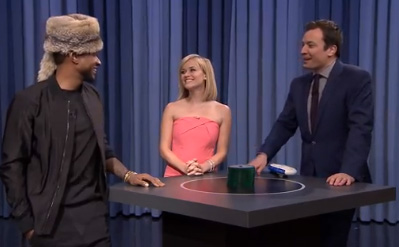 Usher, Reese Witherspoon & Jimmy Fallon