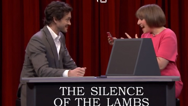 Hugh Dancy & Lena Dunham