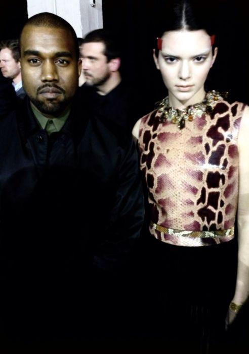 Kanye West & Kendall Jenner