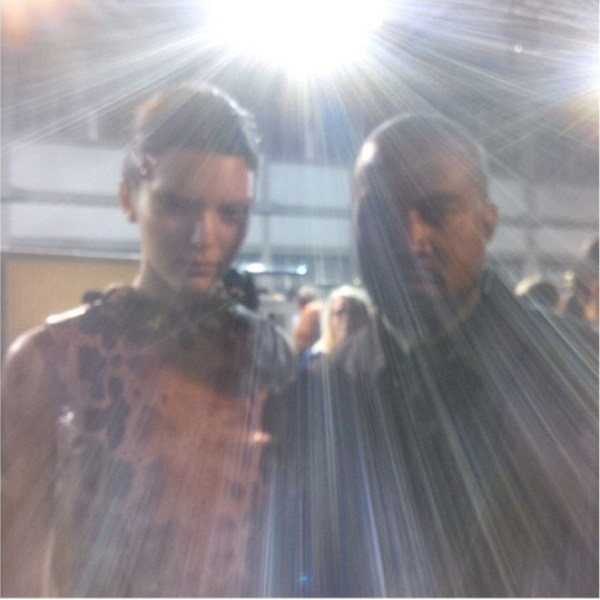 Kendall Jenner & Kanye West
